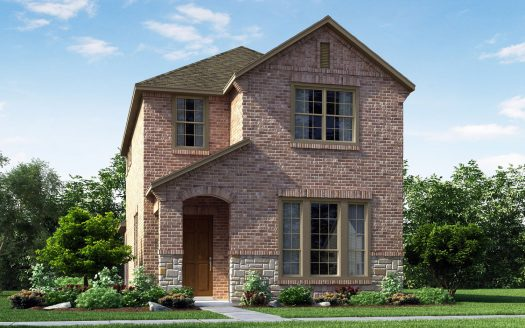 Meritage Homes Bayside subdivision 7413 Sunset Blvd Rowlett TX 75088
