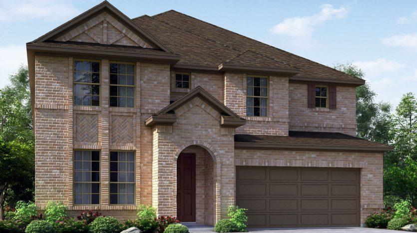 Meritage Homes Hills at Legacy - Highland Series subdivision  Prosper TX 75078