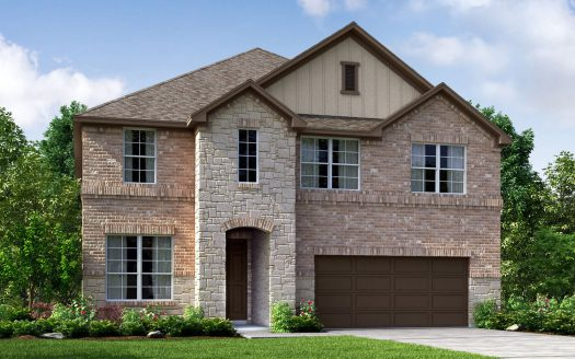 Meritage Homes Ansley Meadows - Woodland Collection subdivision  Allen TX 75013