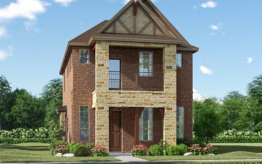 Meritage Homes Bayside subdivision 7508 Palisades Dr Rowlett TX 75088
