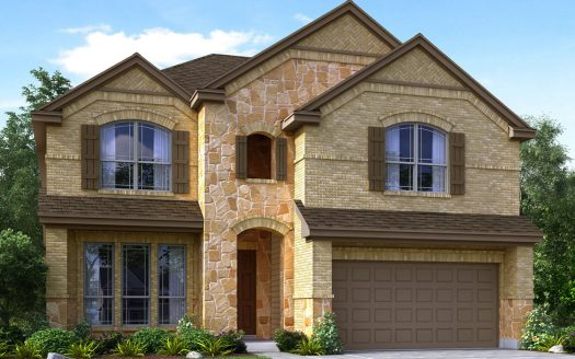 Meritage Homes Willow Wood subdivision 6828 Elm Street Rowlett TX 75089