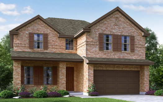 Meritage Homes Willow Wood subdivision 6905 Danridge Road Rowlett TX 75089