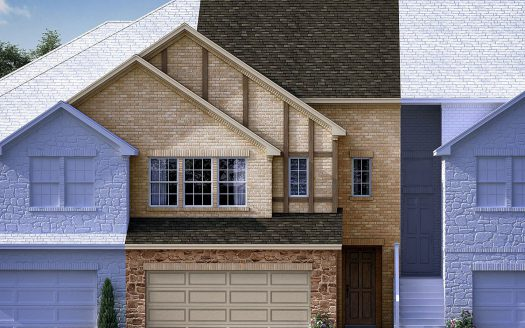 Meritage Homes Village at the Pointe subdivision  The Colony TX 75056