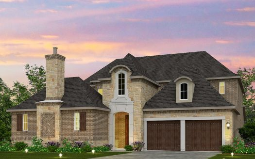 Meritage Homes Stonehaven at The Tribute - The Manors subdivision  The Colony TX 75056