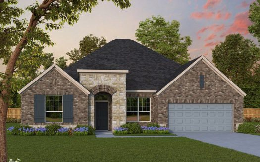 David Weekley Homes Lilyana subdivision  Prosper TX 75078