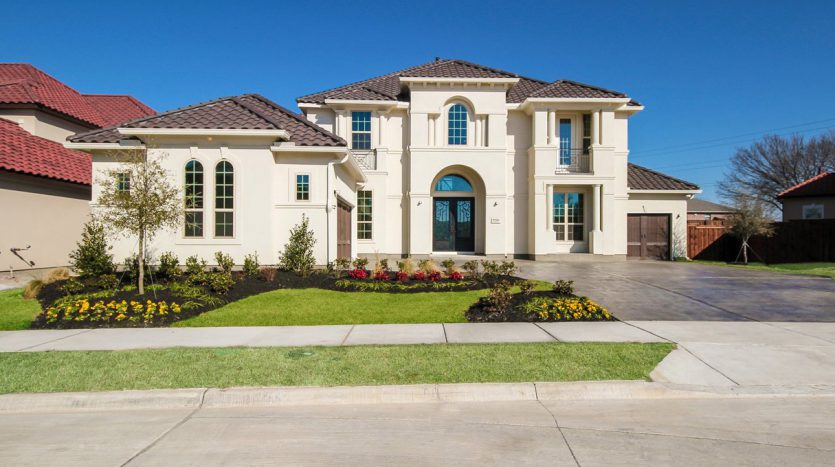 Toll Brothers Latera subdivision 9526 Varese Court Frisco TX 75033