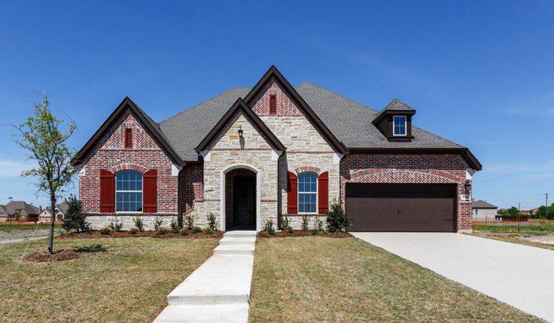 David Weekley Homes Lakes of Prosper Estate Series subdivision 240 Lake Trail Lane Prosper TX 75078