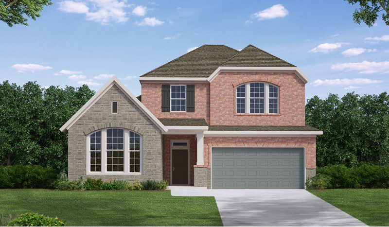 David Weekley Homes South Pointe Cottage Series subdivision  Mansfield TX 76063