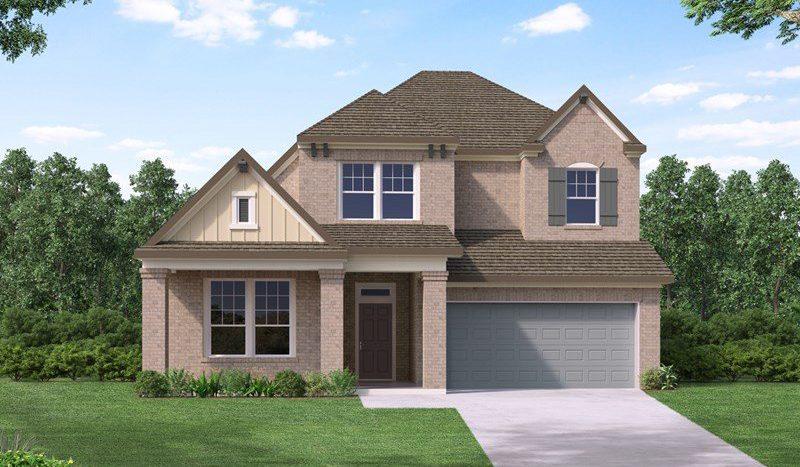 David Weekley Homes South Pointe Village Series subdivision  Mansfield TX 76063