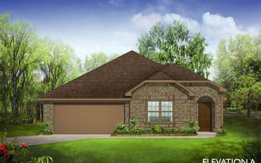 Bloomfield Homes West Crossing subdivision 1153 Sheldon Drive Anna TX 75409