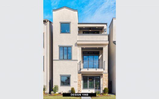 BRITTON HOMES Villas at Legacy West subdivision  Plano TX 75024