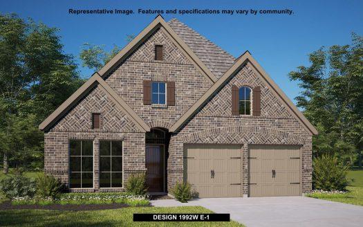 Perry Homes Prairie Oaks 50' subdivision 9516 BLUE STEM LANE Aubrey TX 76227