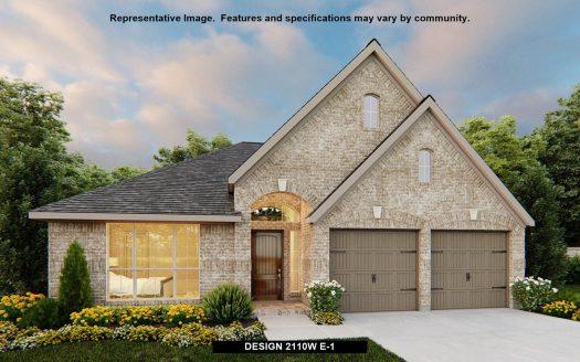 Perry Homes Canyon Falls 50' subdivision  Argyle TX 76226