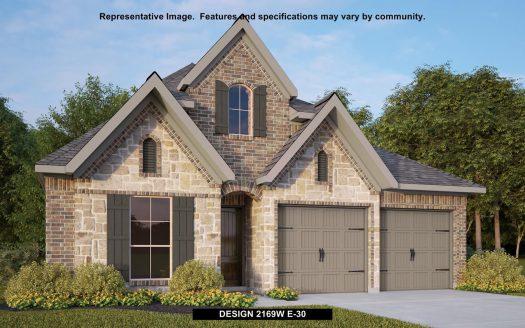 Perry Homes Prairie Oaks 50' subdivision 9520 BLUE STEM LANE Aubrey TX 76227