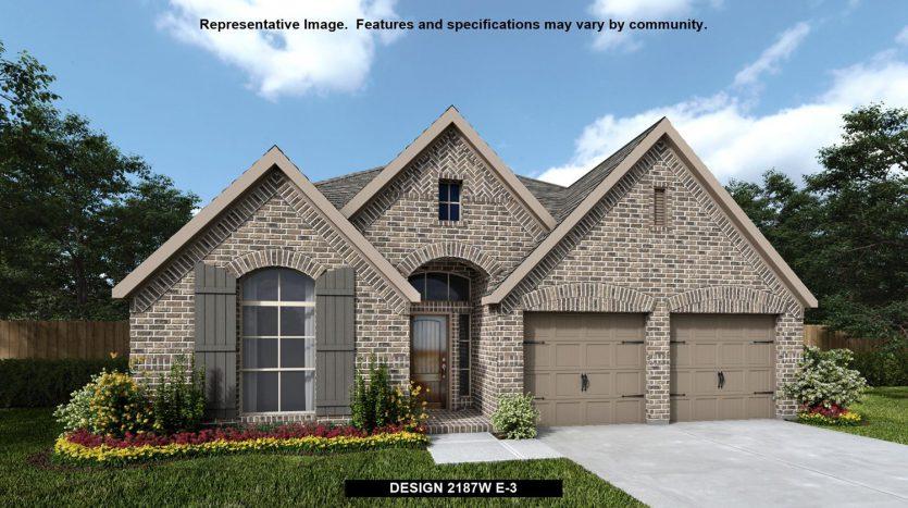 Perry Homes Prairie Oaks 50' subdivision 9521 OXBOW LANE Aubrey TX 76227
