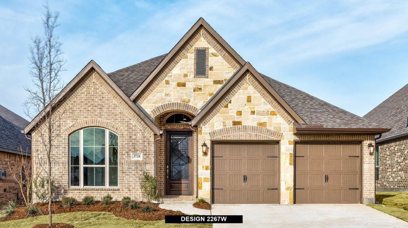 Perry Homes Canyon Falls 50' subdivision  Argyle TX 76226