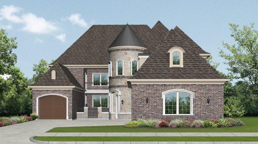 Darling Homes Chapel Creek Bridge View - 67' Homesites subdivision  Frisco TX 75034