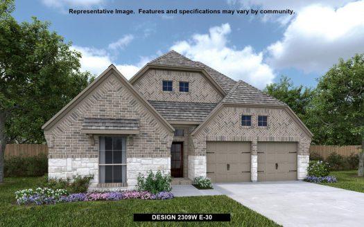 Perry Homes Prairie Oaks 50' subdivision 9605 OXBOW LANE Aubrey TX 76227