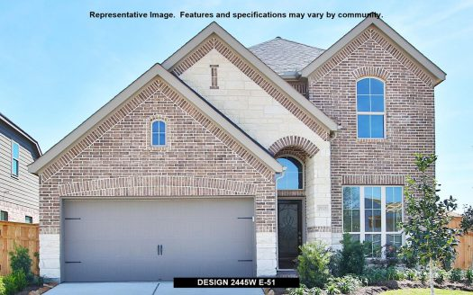 Perry Homes Trinity Falls 45' subdivision  McKinney TX 75071