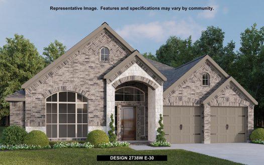 Perry Homes Prairie Oaks 60' subdivision 308 TEXAS RED LANE Aubrey TX 76227