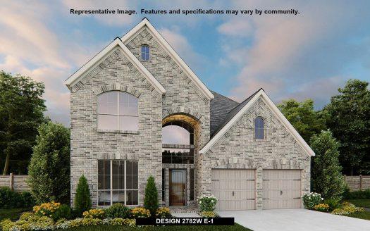 Perry Homes Trinity Falls 50' subdivision  McKinney TX 75071