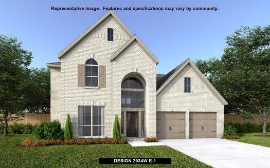Perry Homes Prairie Oaks 60' subdivision 312 TEXAS RED LANE Aubrey TX 76227