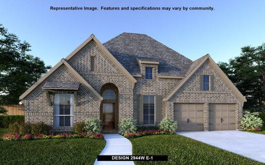 Perry Homes Prairie Oaks 60' subdivision 305 COWLING DRIVE Aubrey TX 76227
