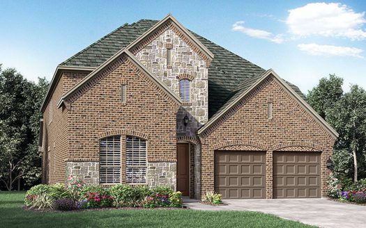 Darling Homes Phillips Creek Ranch Silvertail - 55' Homesites subdivision  Frisco TX 75034