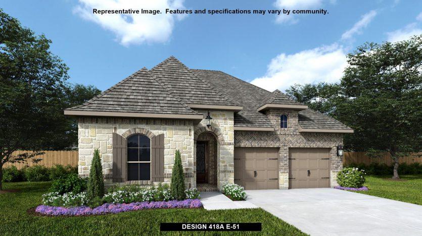 BRITTON HOMES Castle Hills 50' subdivision  Carrollton TX 75010