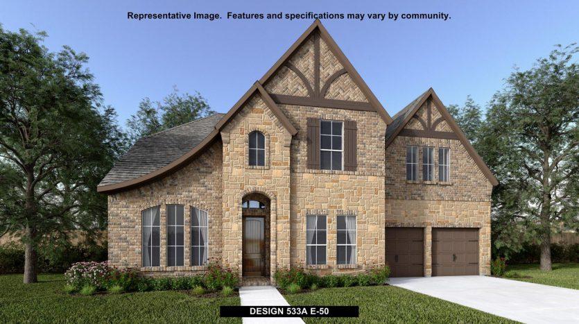 BRITTON HOMES Mustang Lakes 60' subdivision  Celina TX 75009