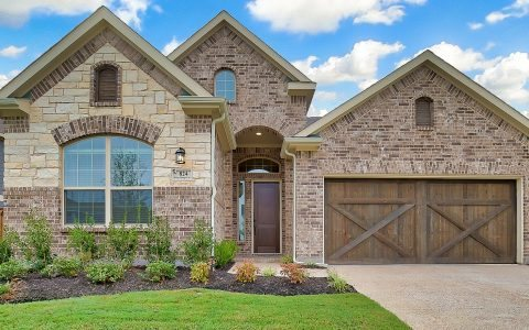 Chesmar Homes Dallas Trinity Falls subdivision 800 Winter Creek Drive Aubrey TX 76227