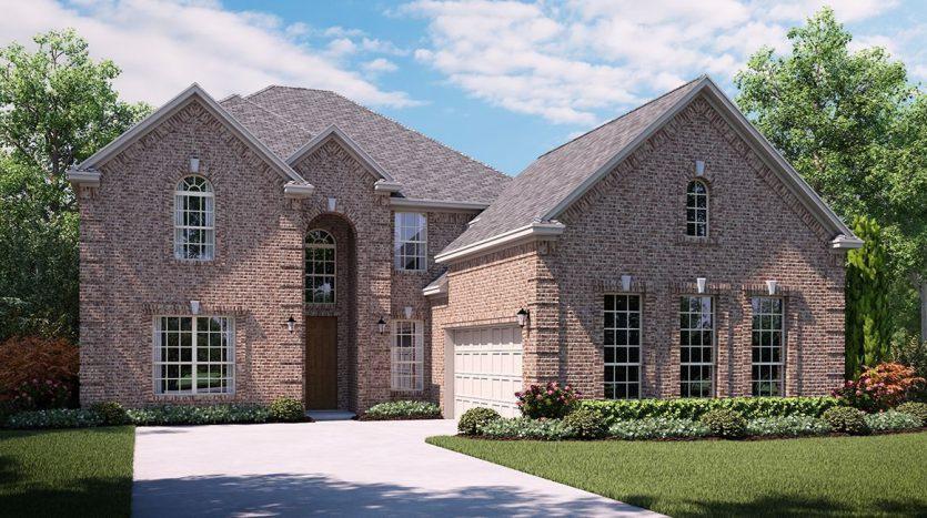 Lennar Hills of Crown Ridge subdivision  Frisco TX 75035