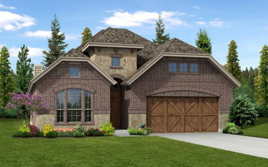 Trendmaker Homes Lakeside Estates at Paloma Creek subdivision  Little Elm TX 75068