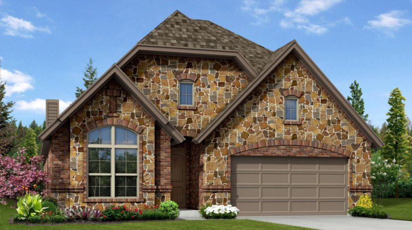 Trendmaker Homes Villages of Carmel subdivision  Denton TX 76208