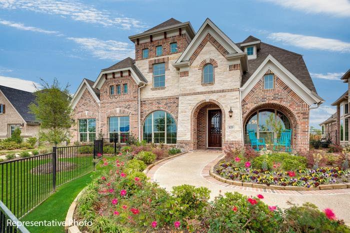 Grand Homes Silverleaf Estates subdivision  Irving TX 75063