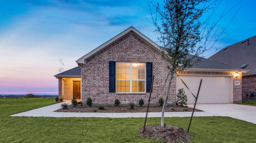 Pulte Homes Erwin Farms subdivision  McKinney TX 75071