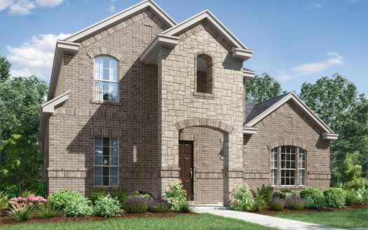 Landon Homes Hollyhock Impression Series subdivision  Frisco TX 75033