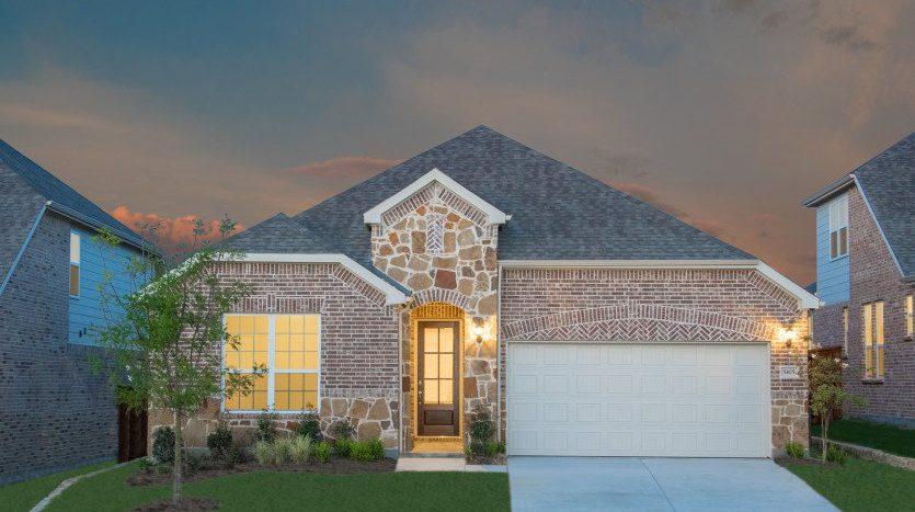 Pulte Homes Carnegie Ridge subdivision  Argyle TX 76226