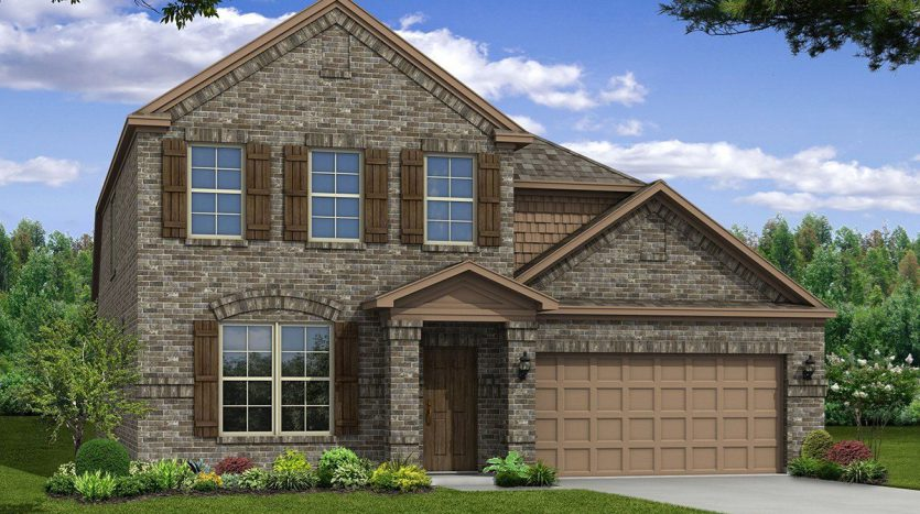 Beazer Homes North Creek subdivision  Melissa TX 75454