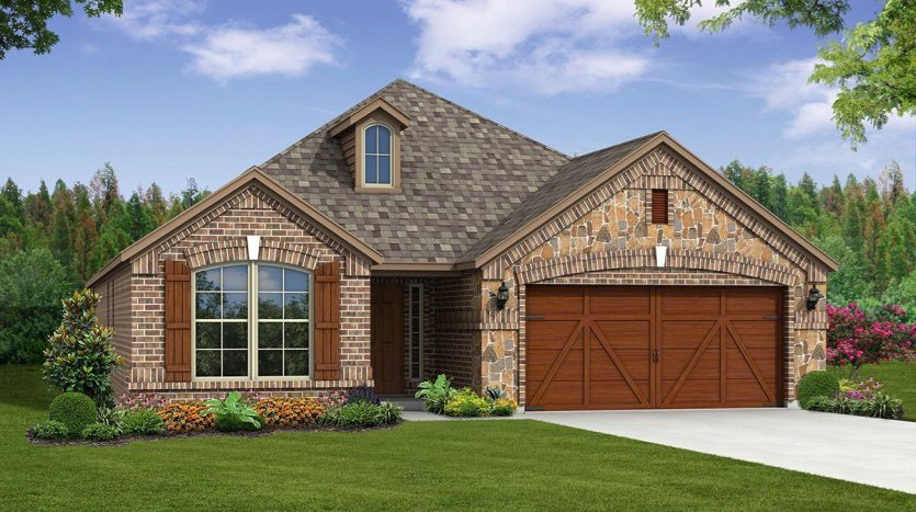 Beazer Homes Valencia on the Lake subdivision  Little Elm TX 75068
