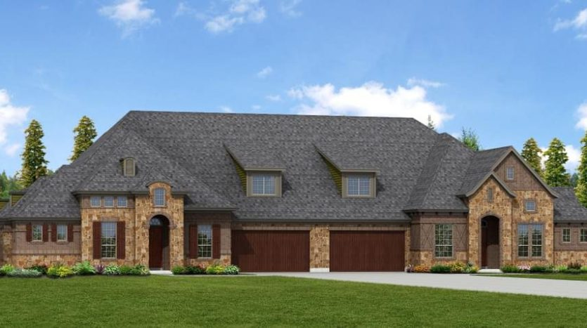 Nathan Carlisle Homes Retreat at Craig Ranch subdivision  McKinney TX 75070