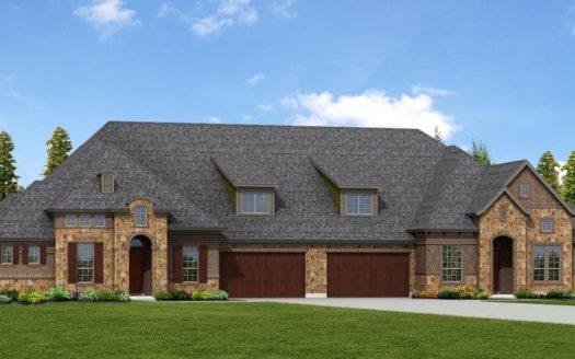 Nathan Carlisle Homes Retreat at Craig Ranch subdivision  McKinney TX 75070