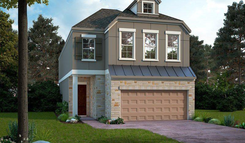 David Weekley Homes The Reserve at Kessler Heights - Garden Series subdivision  Dallas TX 75208