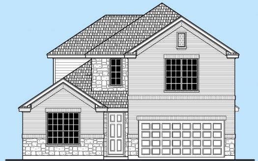 Landon Homes Walnut Springs at Twin Creeks subdivision  Allen TX 75013