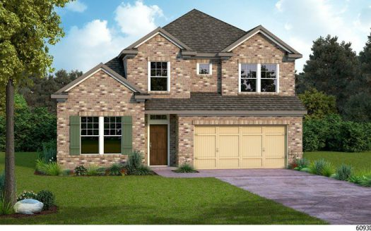 David Weekley Homes Prairie Oaks subdivision 713 Bent Brook Road Aubrey TX 76227
