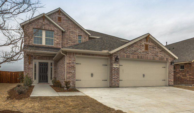 David Weekley Homes Gateway Parks Cottages subdivision  Forney TX 75126