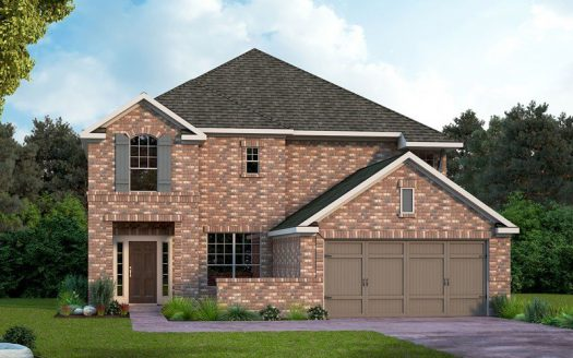 David Weekley Homes Prairie Oaks subdivision 9505 Blue Stem Lane Aubrey TX 76227
