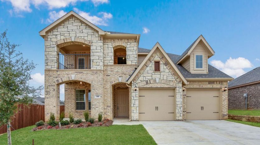 Impression Homes The Glen of Village Creek subdivision  Kennedale TX 76060