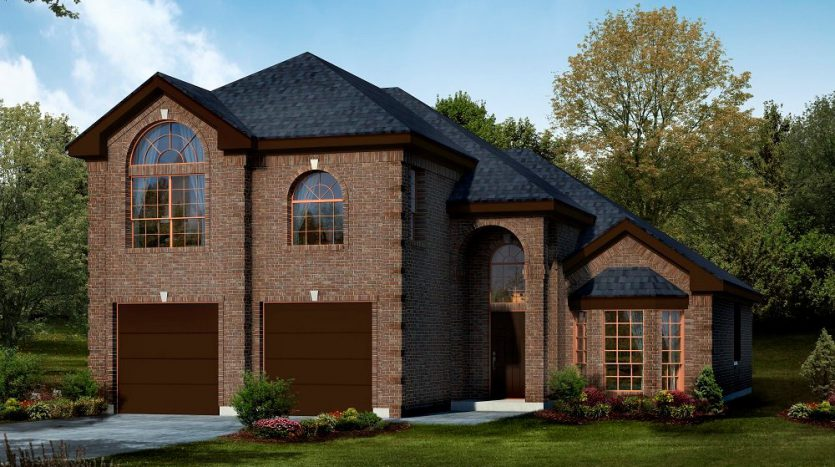 First Texas Homes The Villages of Fox Hollow subdivision  Forney TX 75126