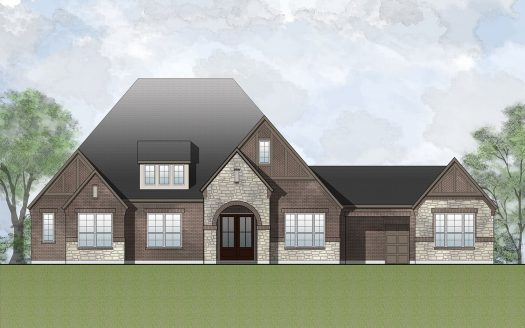 Drees Custom Homes Canyon Falls 100's subdivision  Argyle TX 76226